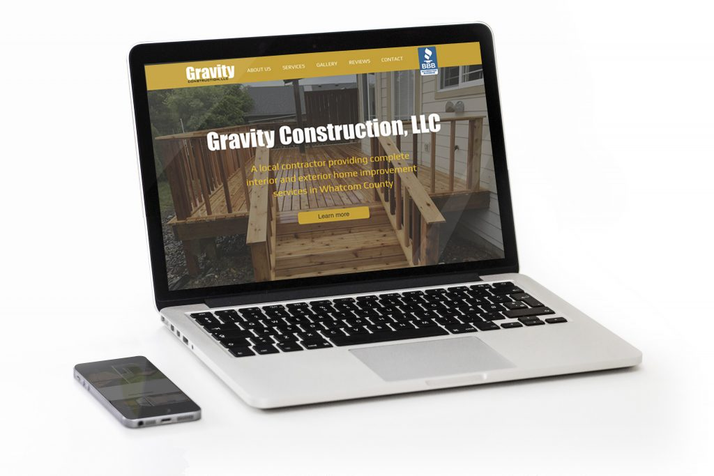 Ferndale Construction Company, Website Design, Web Design, Graphic Design, Birch Bay, Blaine, WA 98230, Logo Design, Blaine by the sea