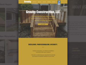 Gravity Construction Homepage