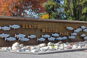 Blaine Marine Park Signage