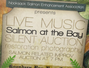 Salmon at the Bay Poster