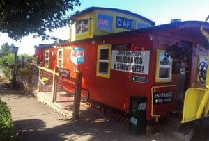 Railway Cafe outdoor exterior view
