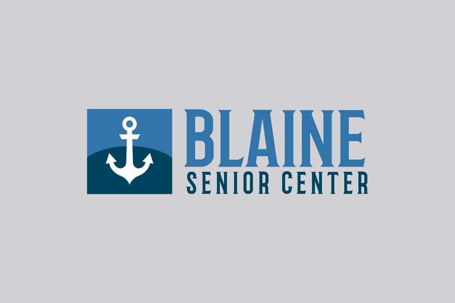 New Business Marketing and Website Package Part, Blaine website design agency designed logo for Blaine Senior Center by Spoken Designs