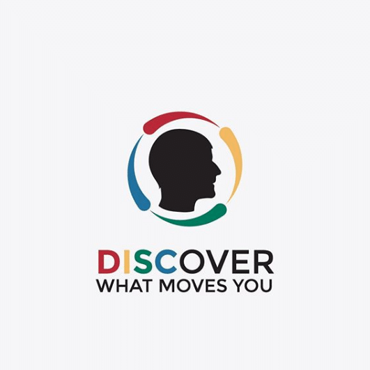 DISCover What Moves You Logo by Spoken Designs