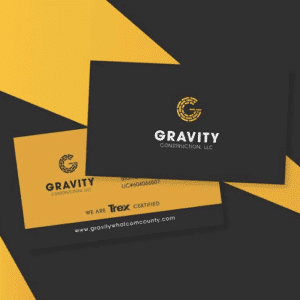 Spoken Designs Logo Project for Gravity Construction