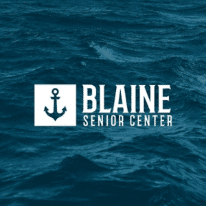 Blaine Senior Logo by Bellingham Web Agency