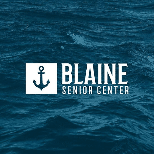 Blaine Senior Logo by Bellingham Web Agency
