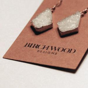 Jewelry Logo Birchwood Designs by Bellingham Web Agency Branding Project
