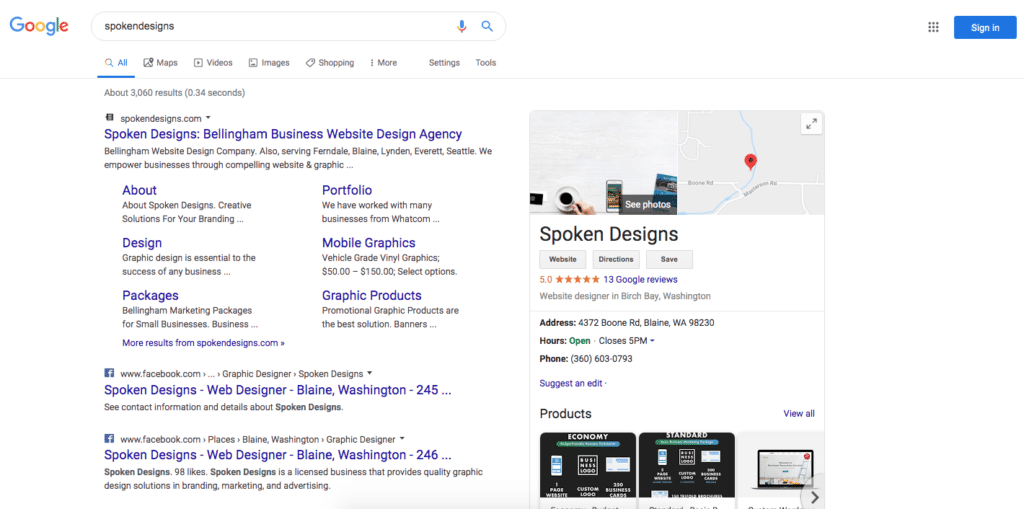 Spoken Designs Web Agency Gogoel